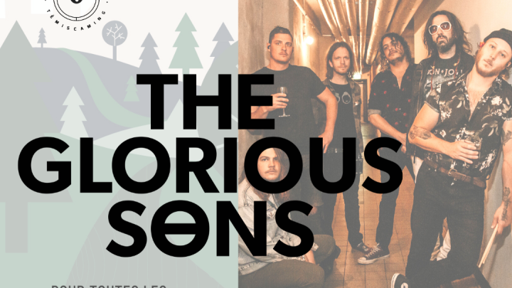 Tête d'affiche au spectacle du    4 septembre  - The Glorious Sons