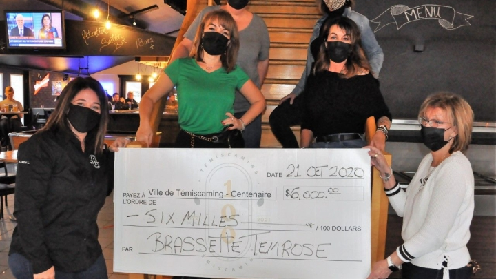 Brassette Temrose makes a donation of $ 6,000